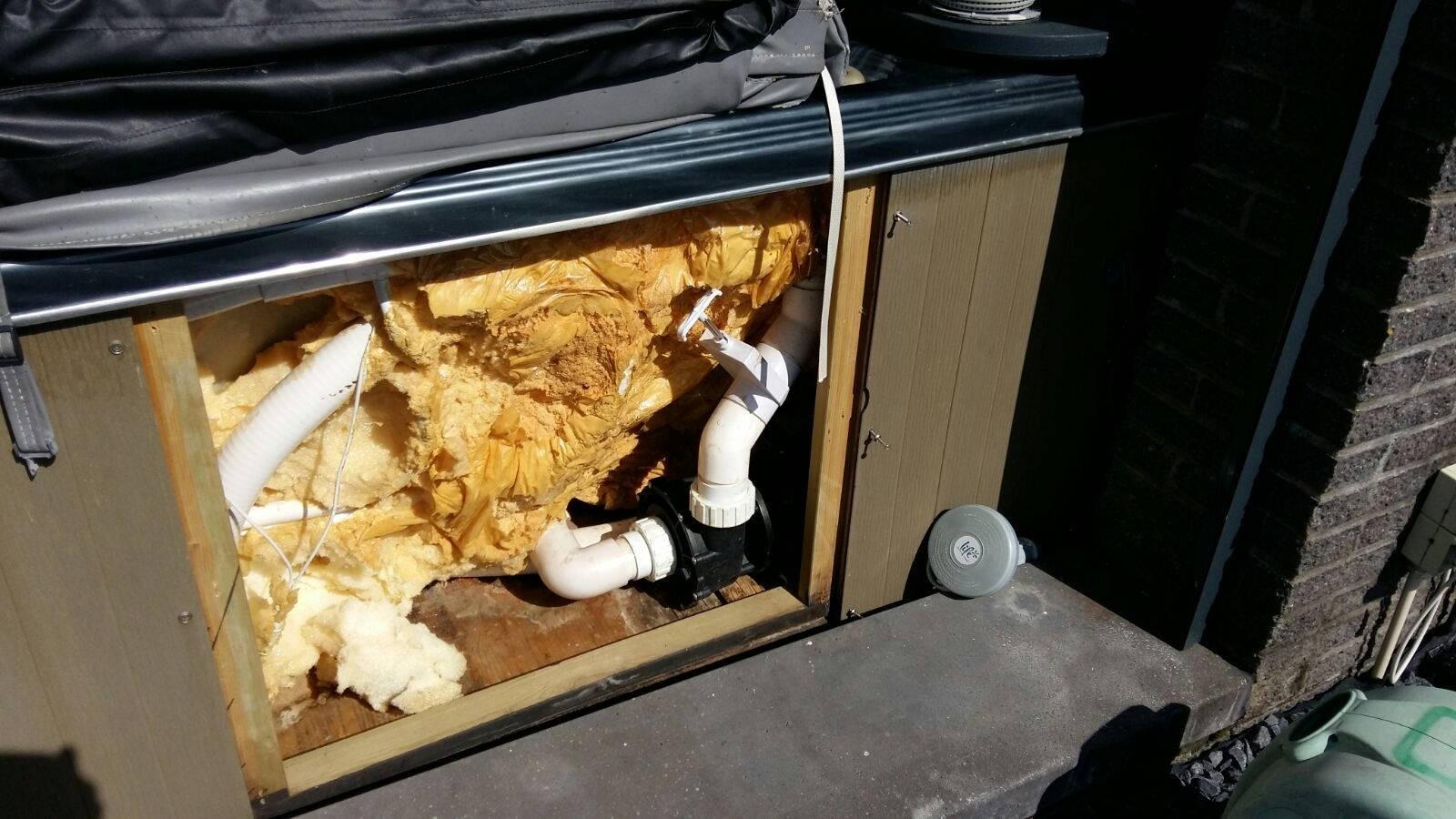 Reparatie lekkage spa in Nieuwegein