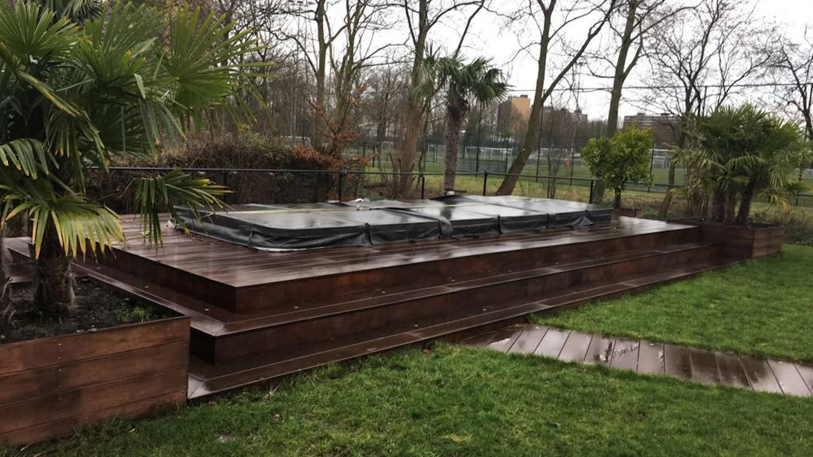 Ozonator vervangen van een Passion zwemspa in Capelle aan den IJssel