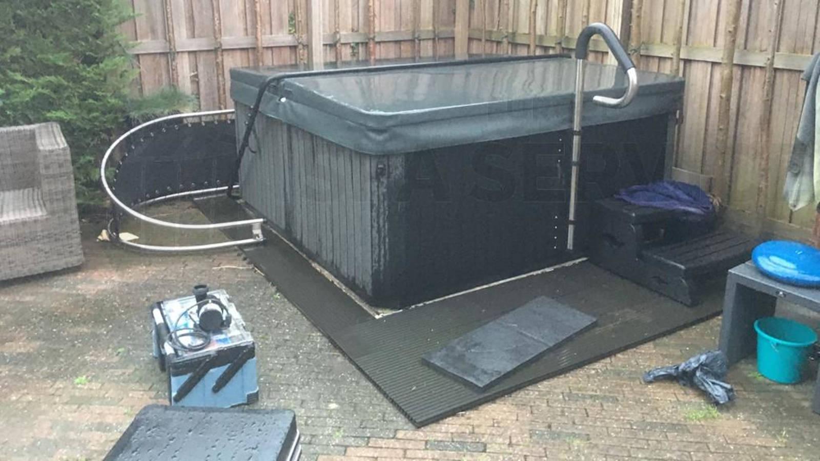 Reparatie circulatiepomp van een spa in Amstelveen