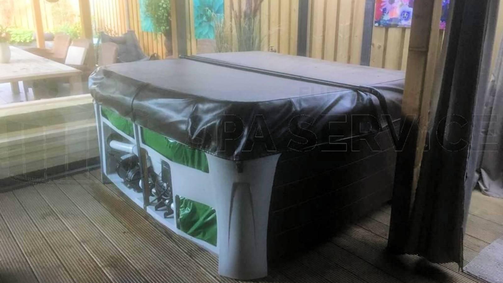 Reparatie verwarming van een Dreammaker Crossover spa in Oijen