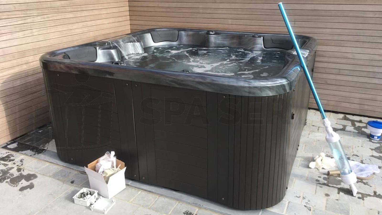 Ombouw van een Chinese spa naar Balboa technologie in Aalter België