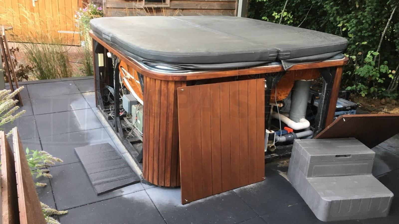 Reparatie defecte Chinese spa in Vorden