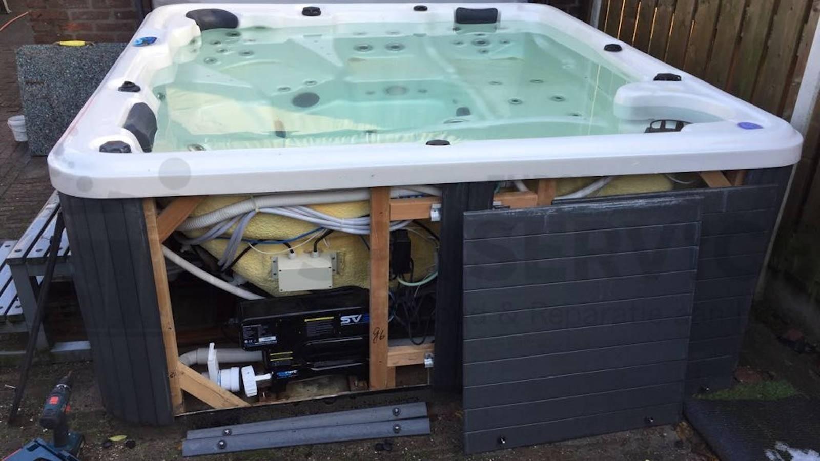 Reparatie verwarming van een Delta 5 spa in Kaatsheuvel