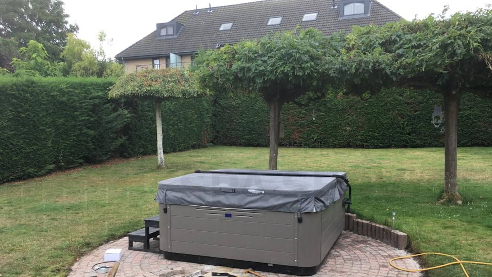 Verhuizing van een Villeroy & Boch R6L spa in Heverlee België