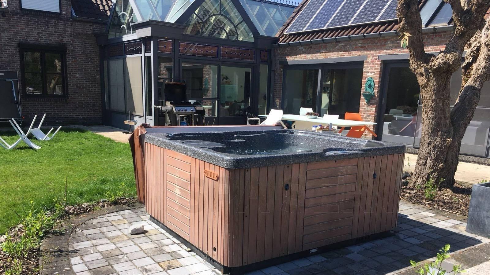 Reparatie lekkage aan een Vita spa in Zonhoven België