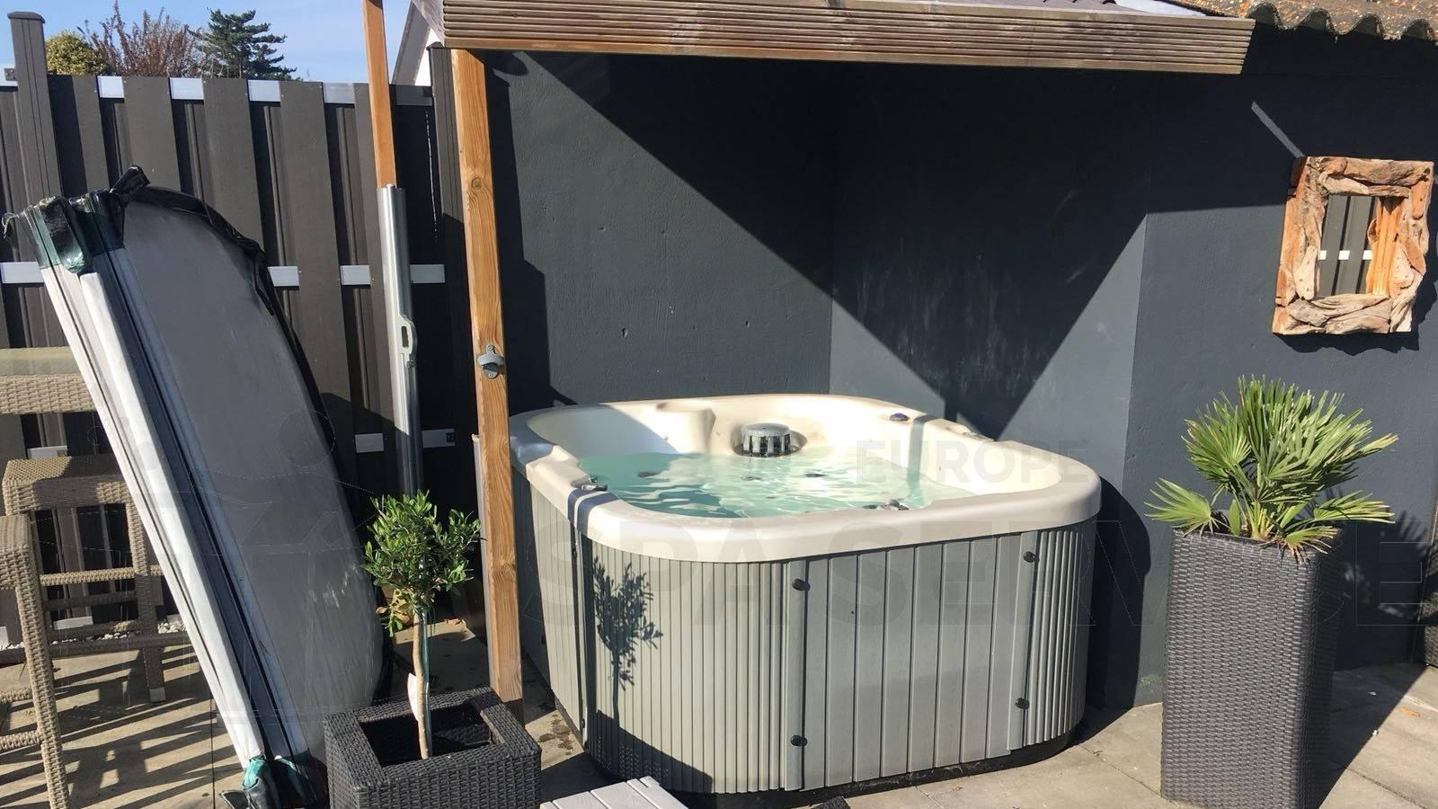 Reparatie verwarming van een Chinese spa in Munstergeleen België