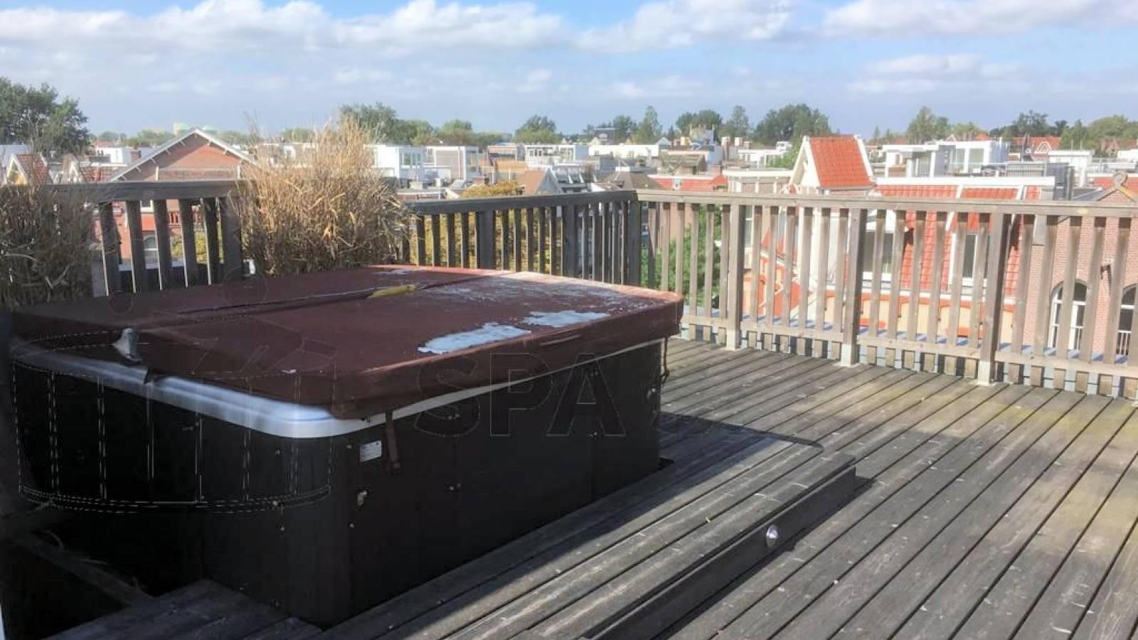 Reparatie lekkage aan een Bubbelkoning spa in Amsterdam
