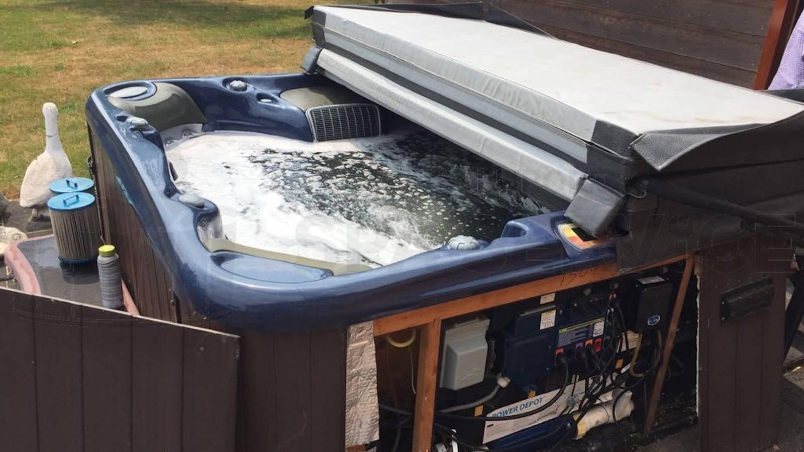 Reparatie kapotte verwarming van een Free style Spa in Geldermalsen