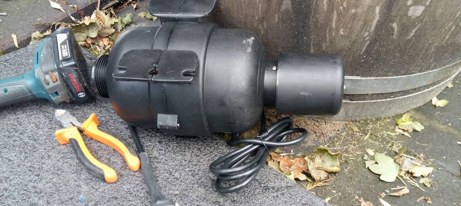 Reparatie blower in spa in Nieuw Vennep