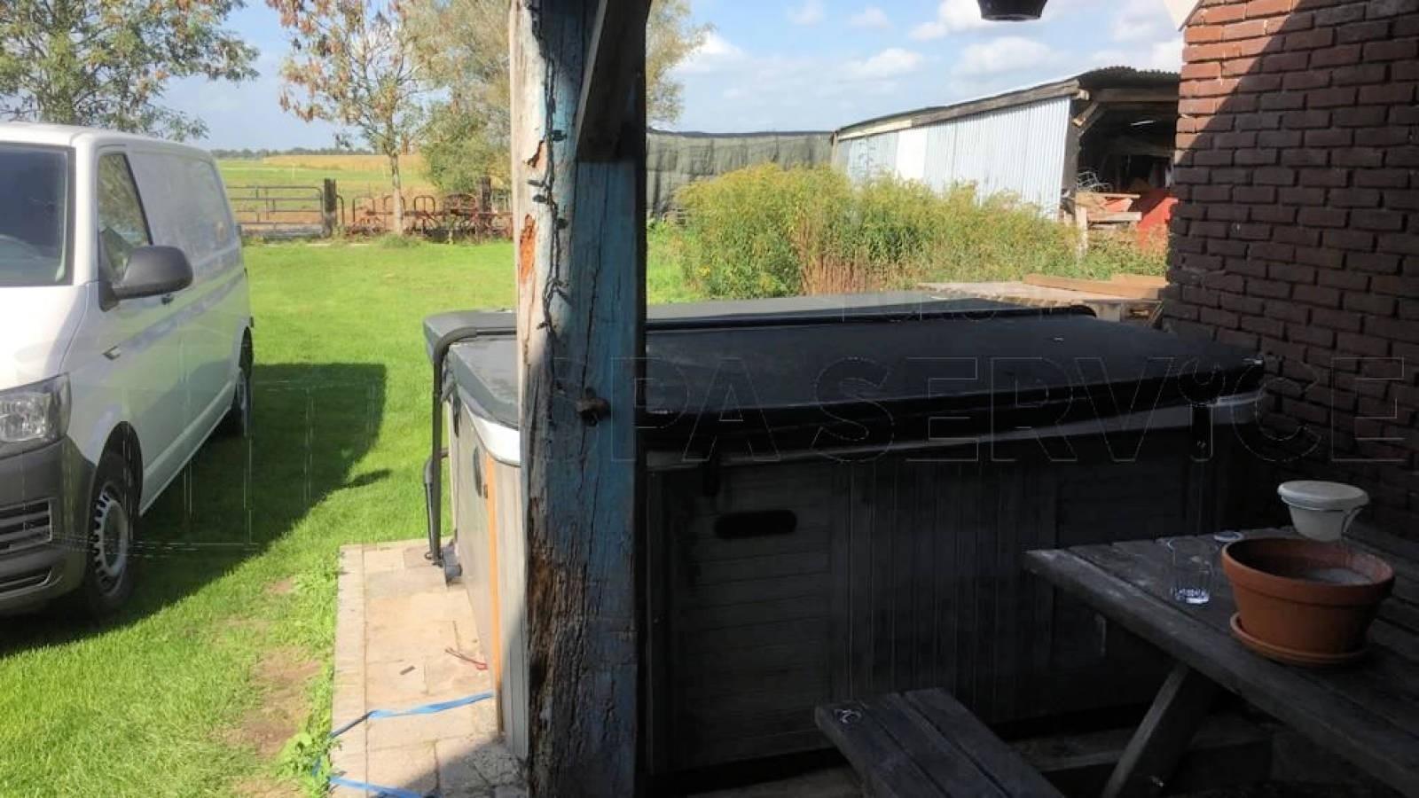 Verwarming gerepareerd van een Jazzi SKT338E spa in Balkbrug