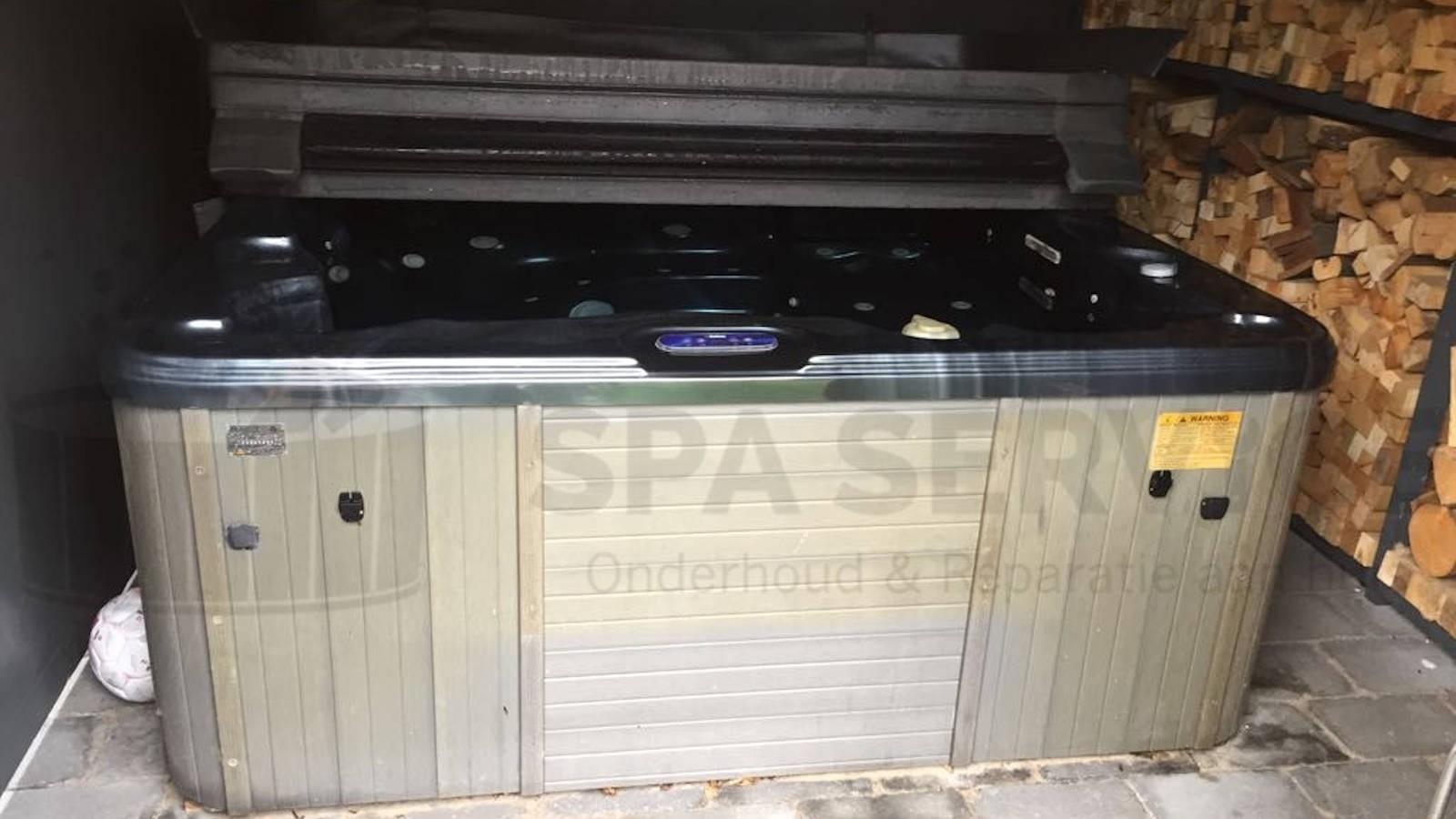 Reparatie verwarming en circulatiepomp van een Sunspa spa in Enschede