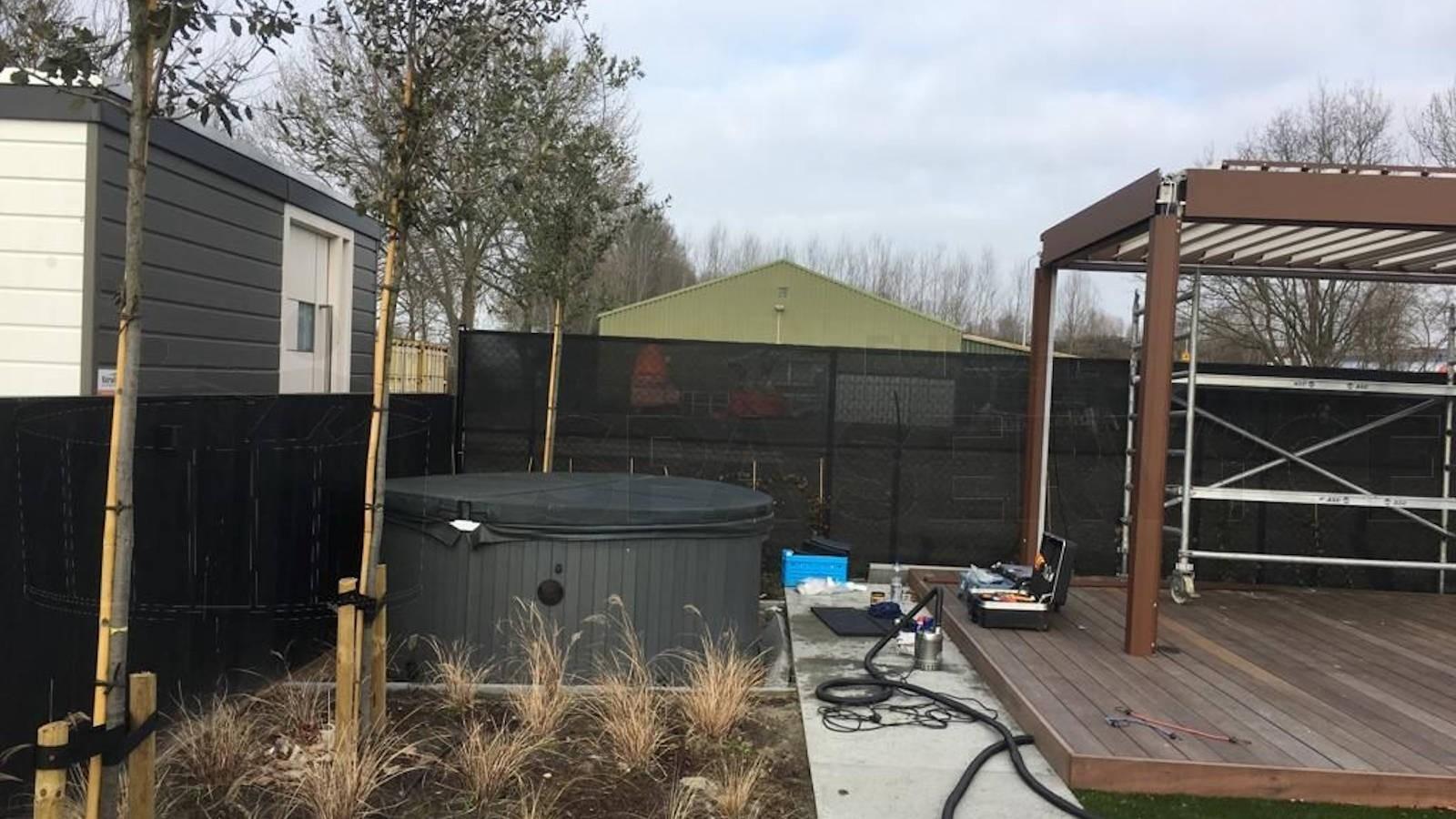 Ombouw van een Chinese spa naar Balboa technologie in Zevenbergen