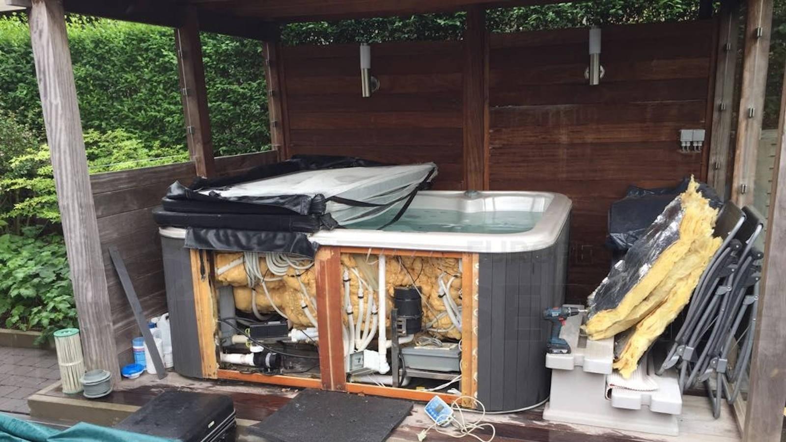 Reparatie Chinese spa in Oudenaarde België
