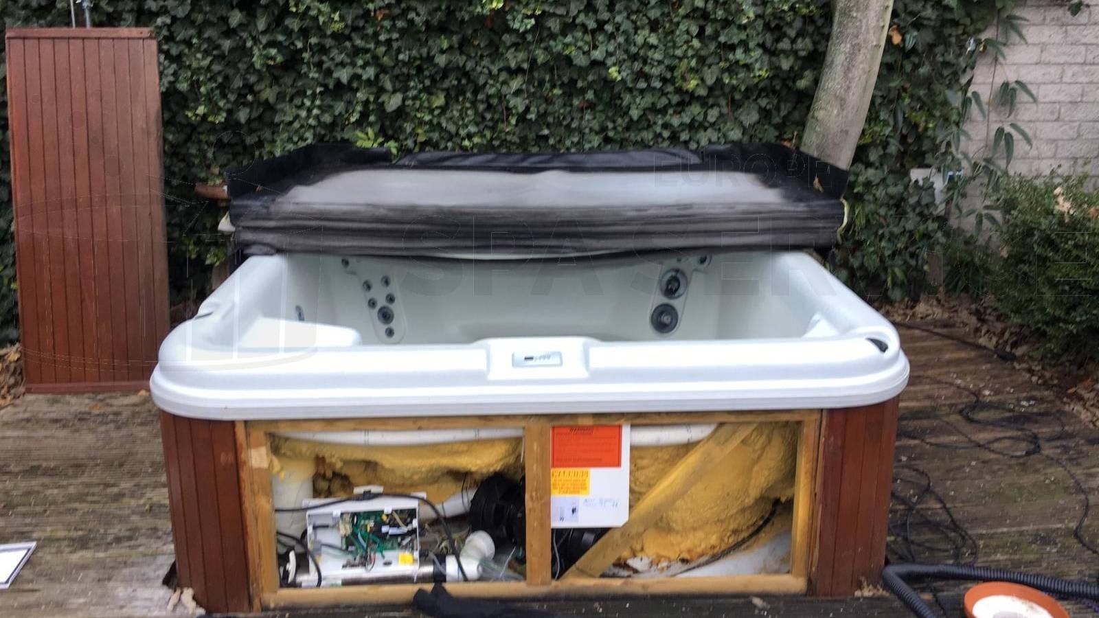 Reparatie heater van een Omnitube spa in Wateringen