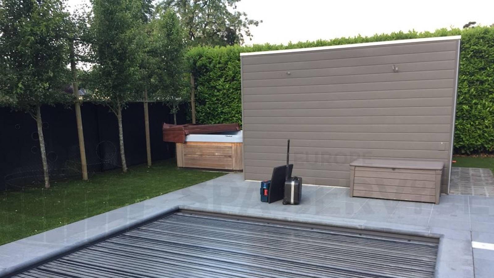 Ozonator vervangen en algehele controle van een Nordic Escape spa in Westmalle België