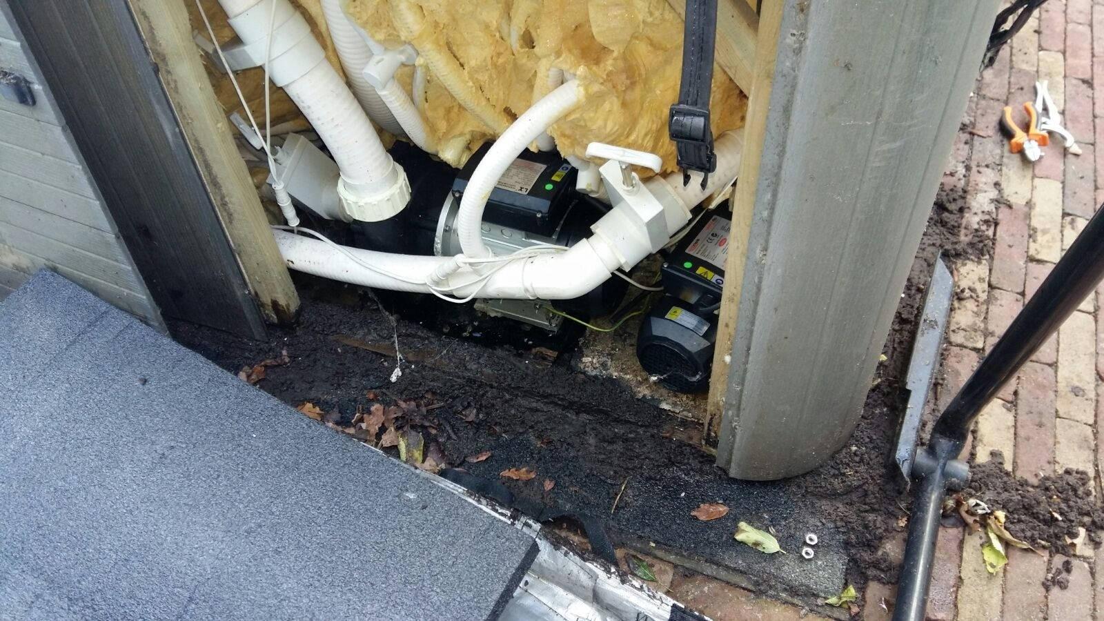 Reparatie jetpomp, ozonator vervangen en algehele controle spa in Ouderkerk aan de Amstel
