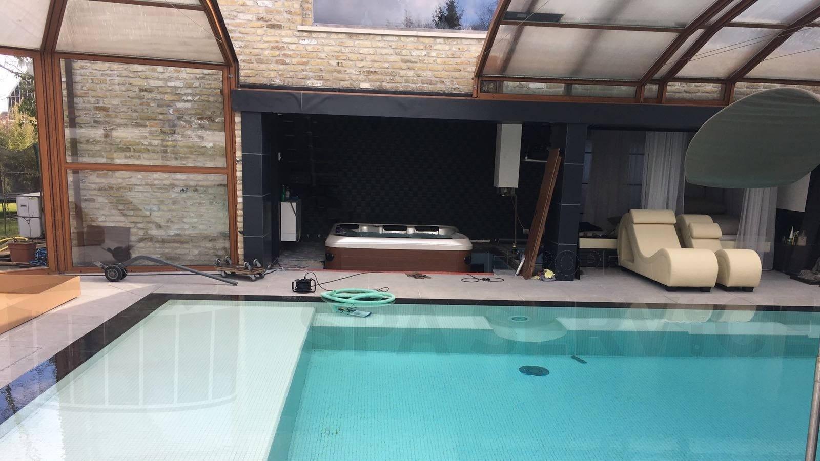 Plaatsing Villeroy & Boch A7LE spa in Zedelgem België
