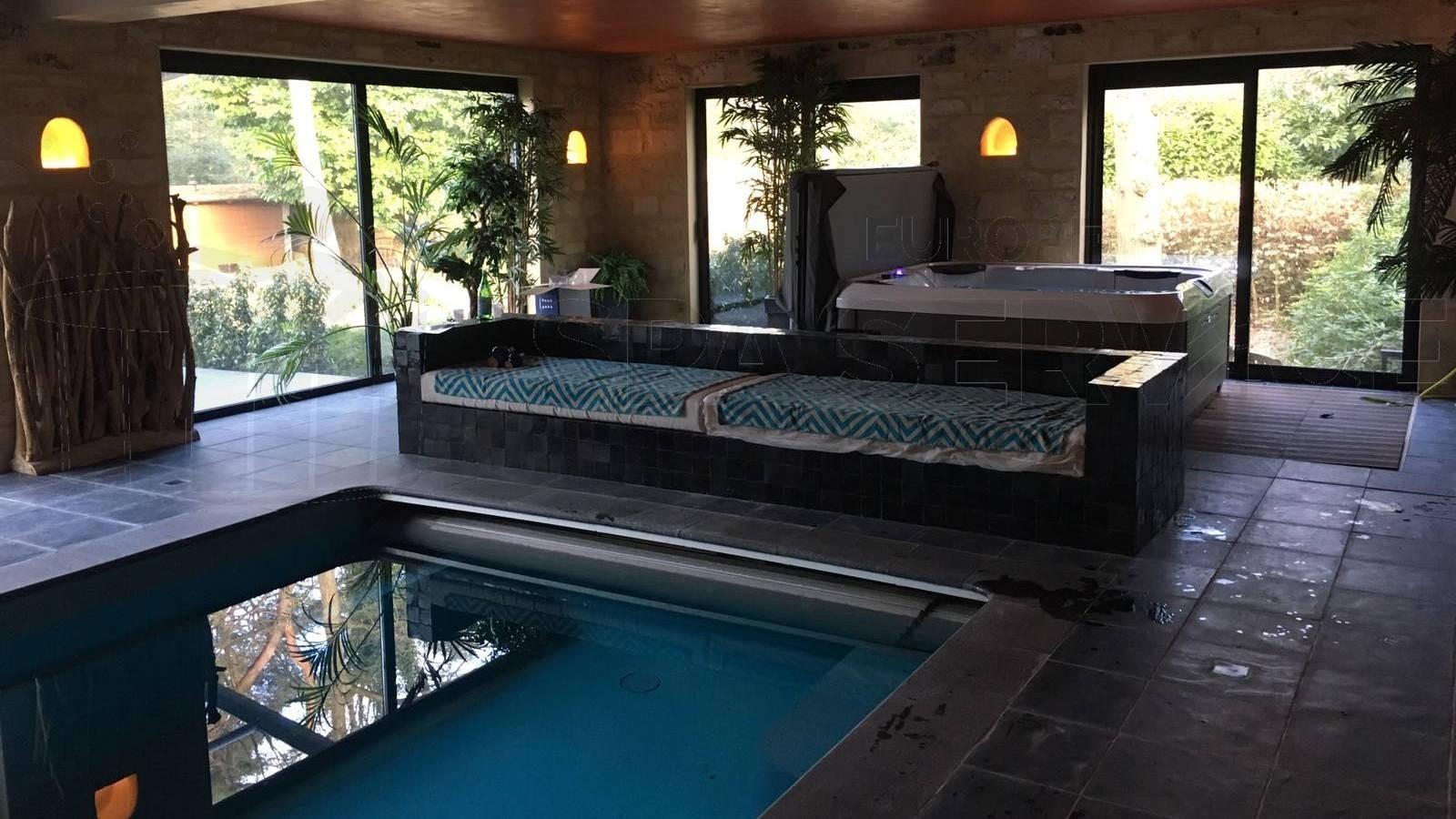 Plaatsing Villeroy & Boch R6LE spa in Brasschaat België